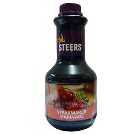 Steers Steakmaker Marinade - 700ml