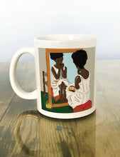 "Load image into Gallery viewer, ""YOUR BLACK IS BEAUTIFUL"" Ceramic Mug"