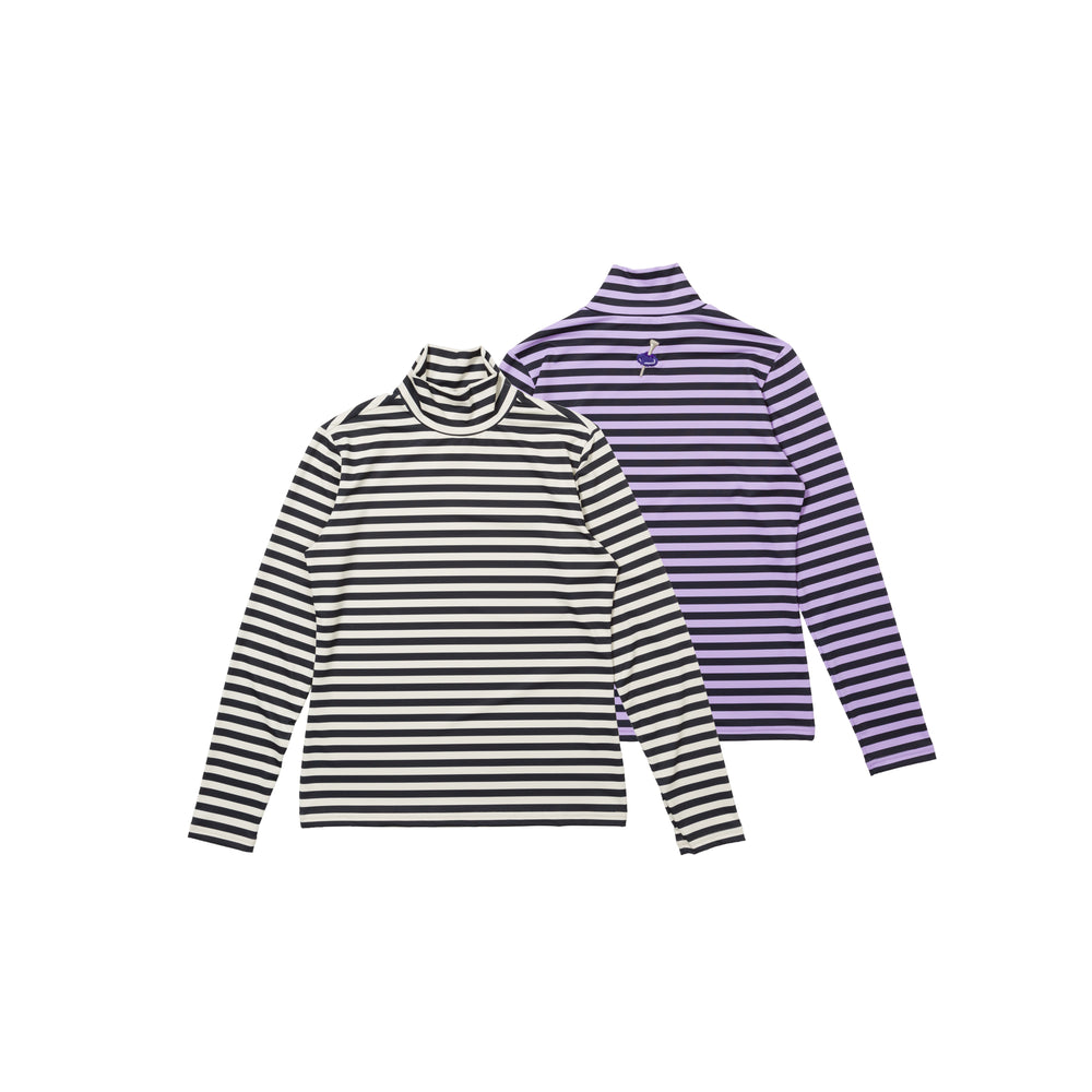 【80600】Border pullover long sleeve