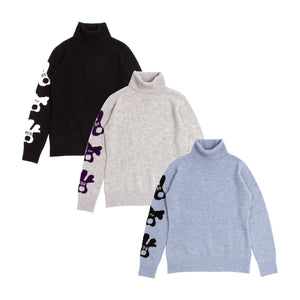 【19MAW-01】high neck sweater