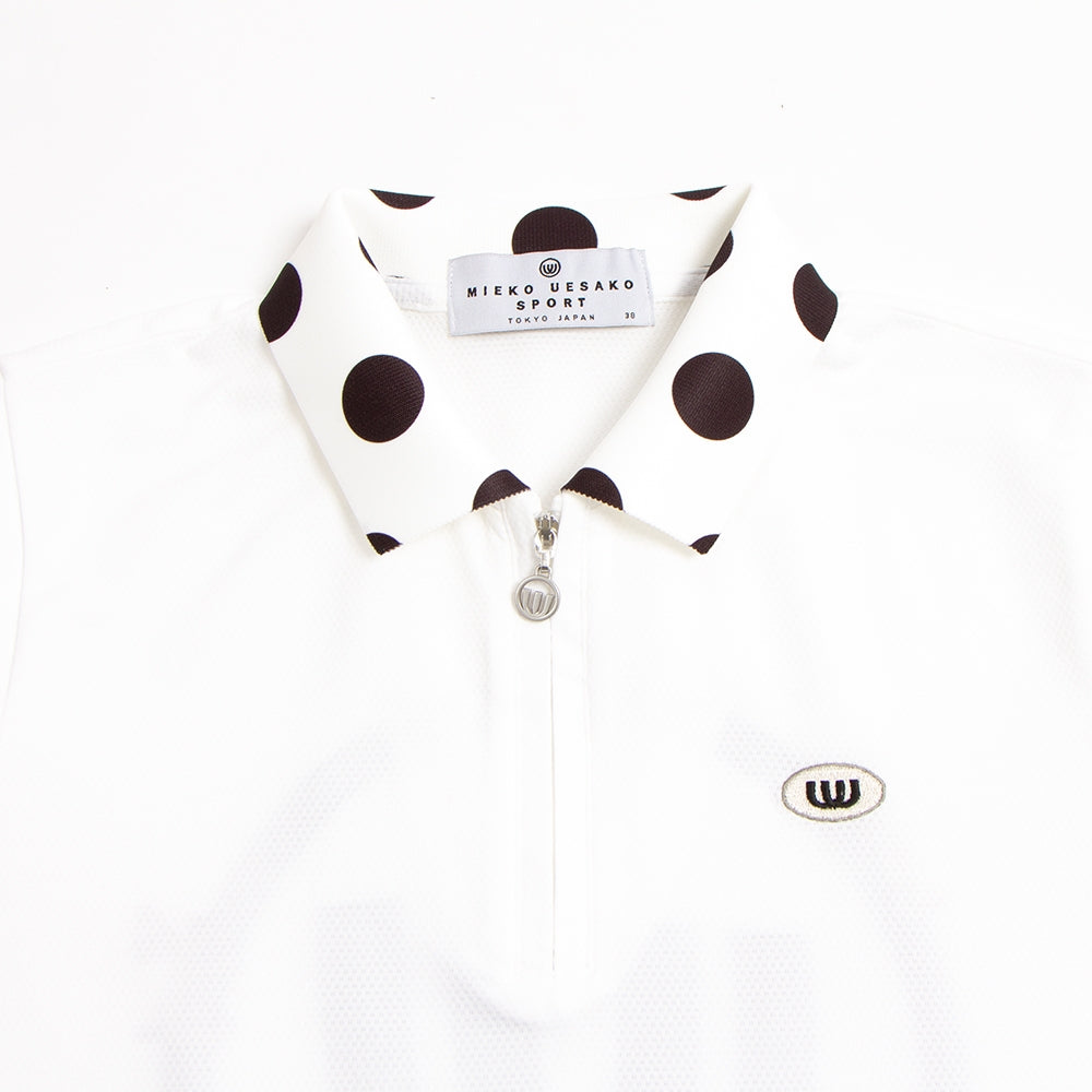[19MSS-03] Dot collar polo shirt (30% OFF)