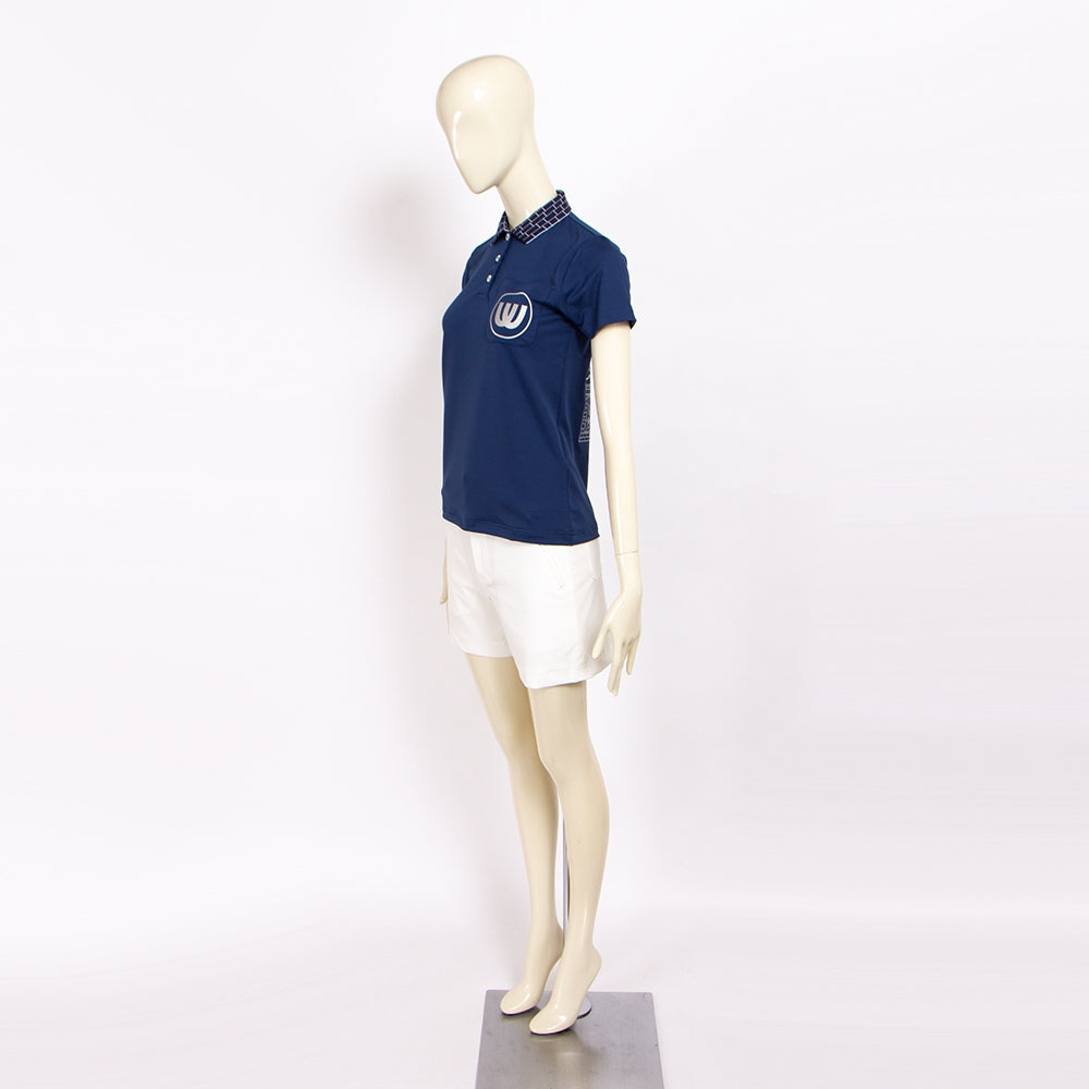 【19MSS-05】polo shirt of lattice collar