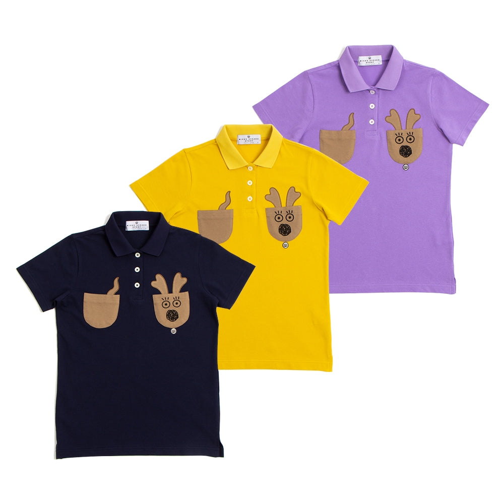 【19MSS-22】Reprint mu-kun polo shirt