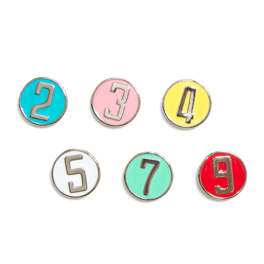 【Numbering12】Numbering buttons