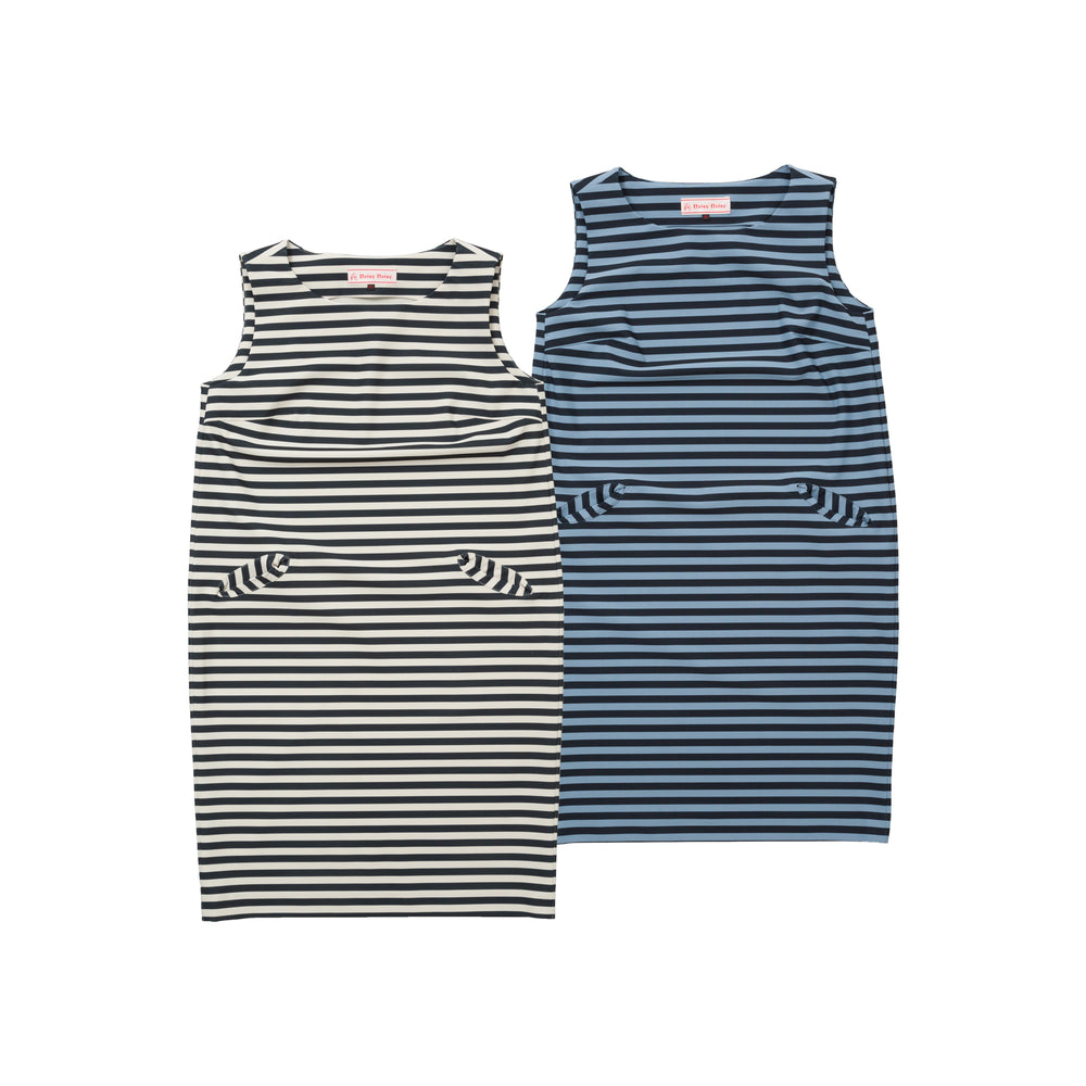 【1840】Striped dress