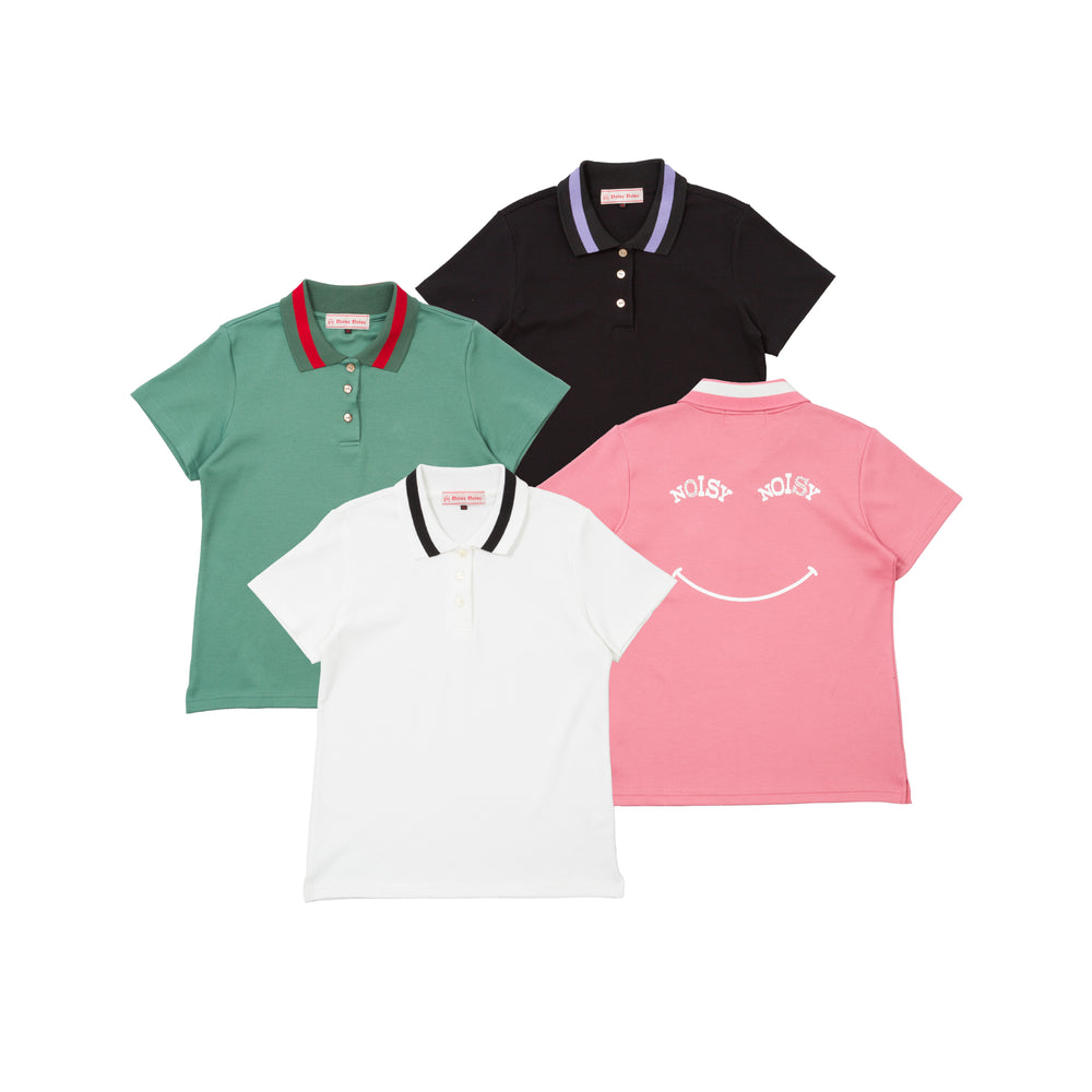 【80625】stretch polo shirt