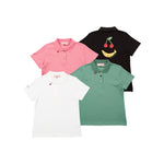 【80608】stretch polo shirts
