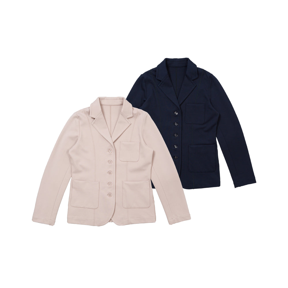 new【80633】knit punch jacket