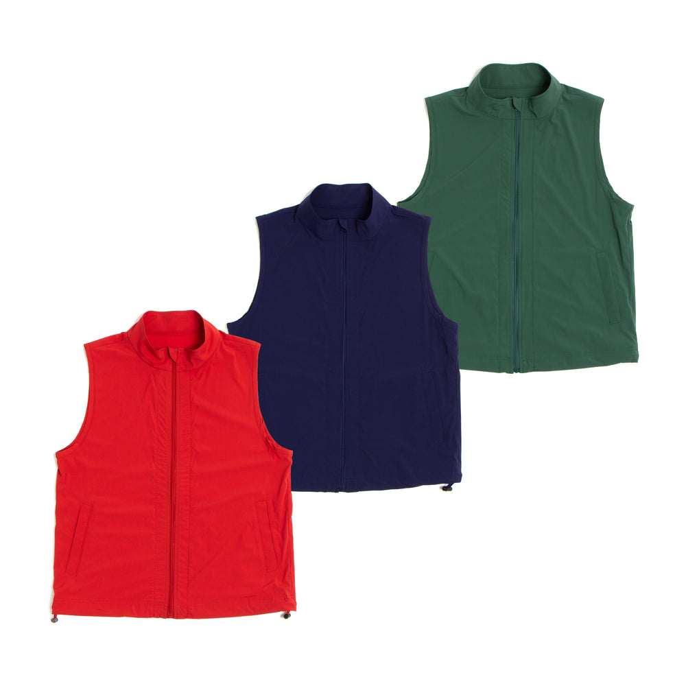 [3750] Stretch Windbreaker Vest (30% OFF)
