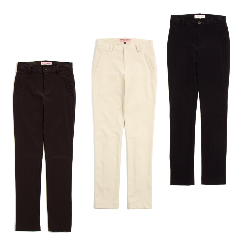 [5794] Suede type straight pants (50% OFF)