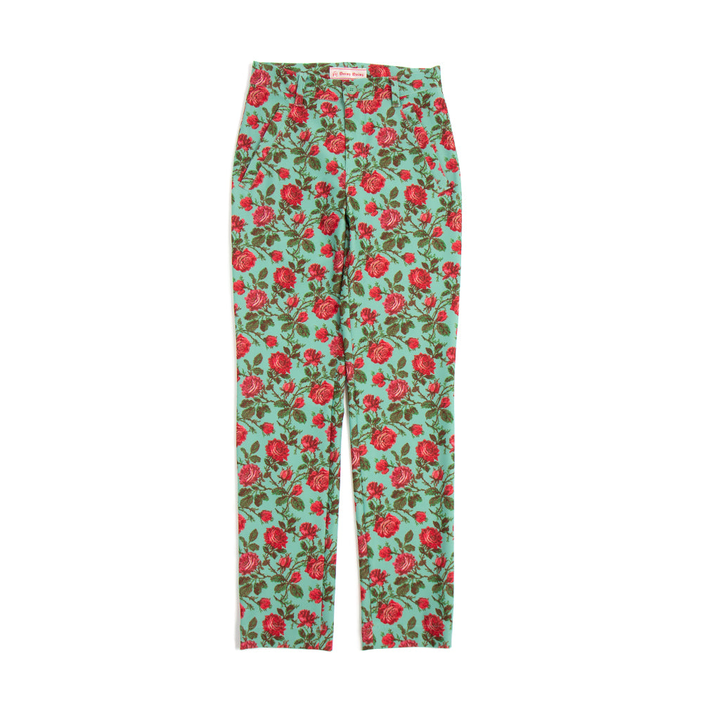 [5817] The Rose of a Rose Straight pants (30 %off)