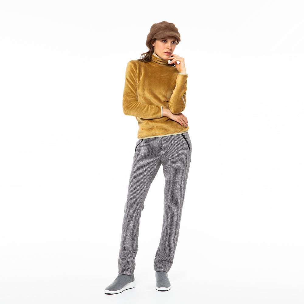 [5828] Knit fleece straight pants (30% OFF)