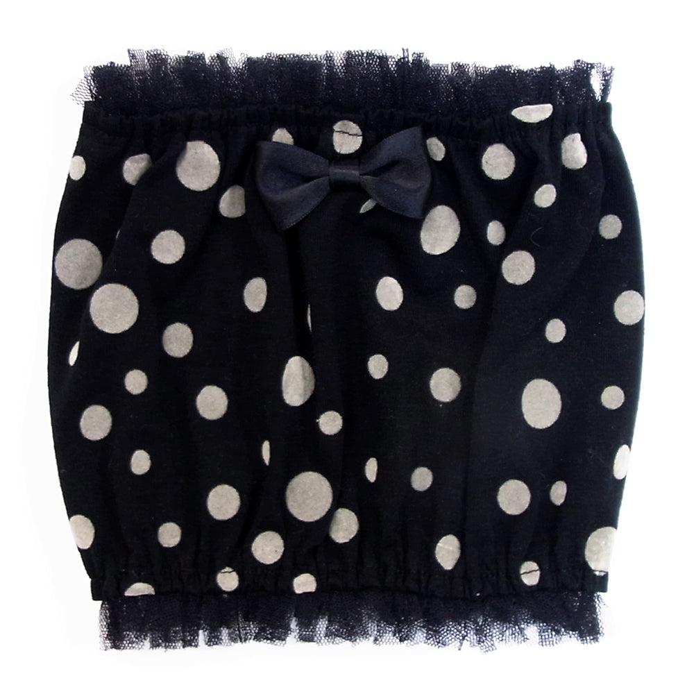 Dot pattern snood (for small dogs)