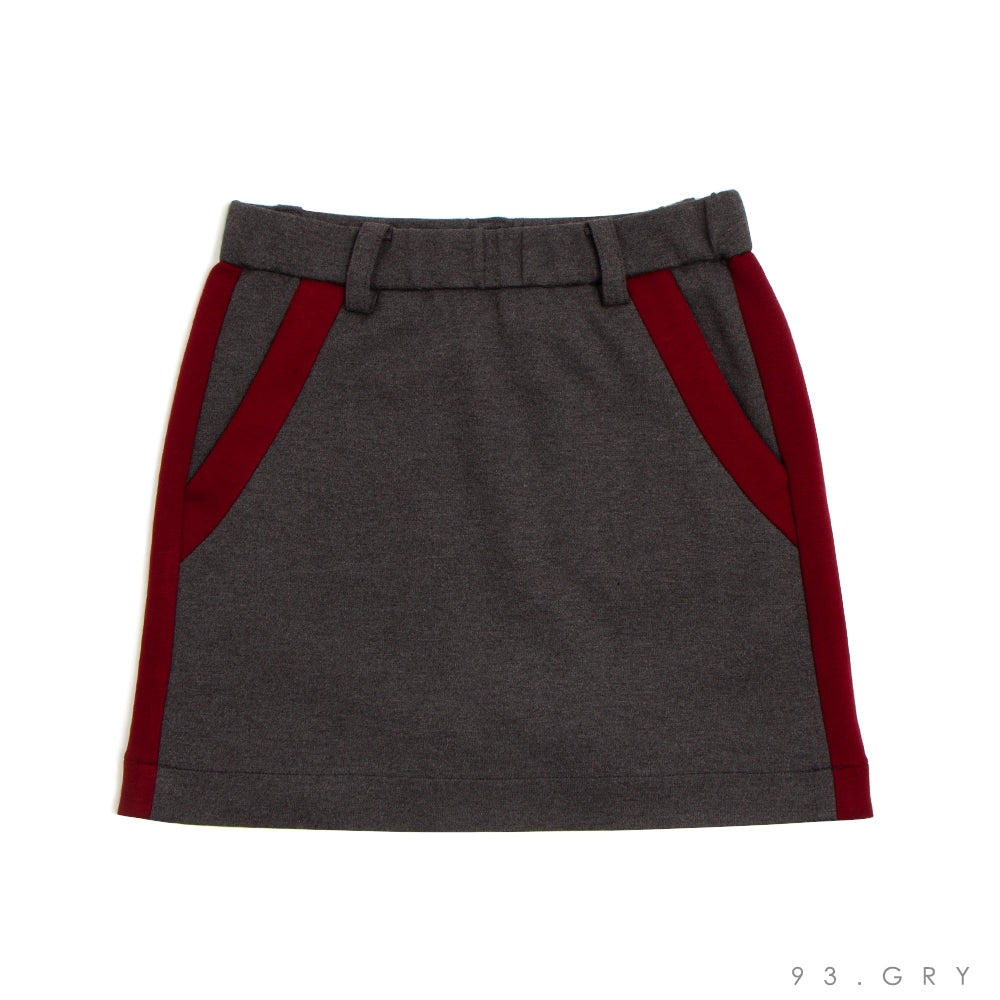 [6624] Stretch punch skirt (50% OFF)