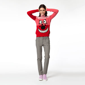 【80398】Smile Sweater