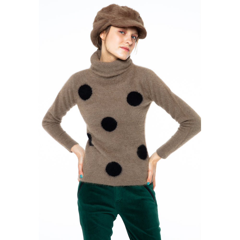 【80585】Dot sweater