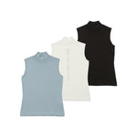 【80594】Back Swarovsky sleeveless summer knit
