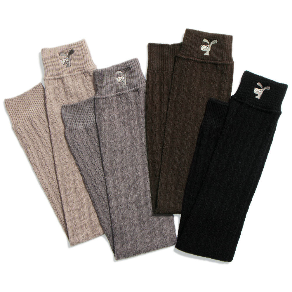 【9823】noisy embroider leg warmer