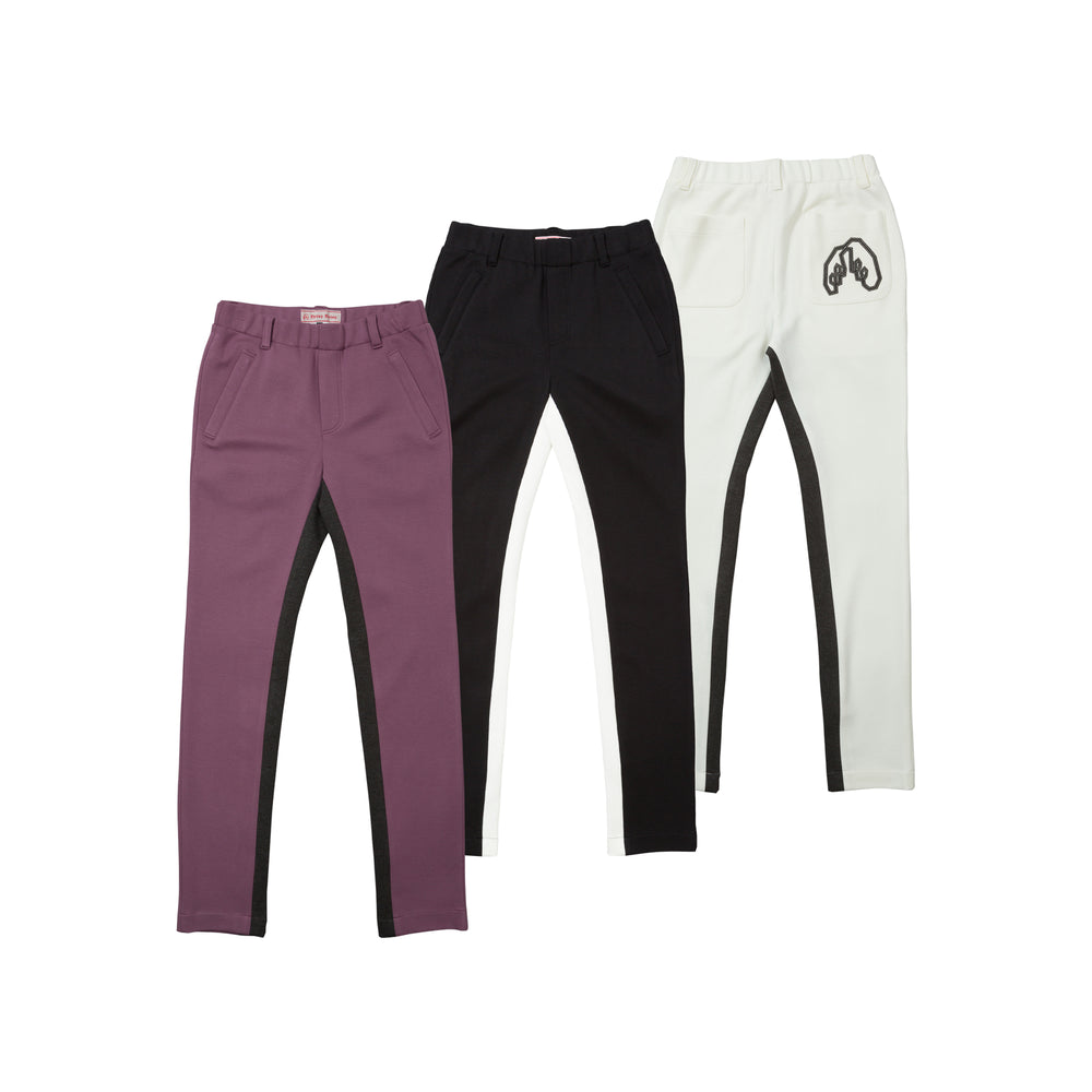 new【5869】Middle side switching pants