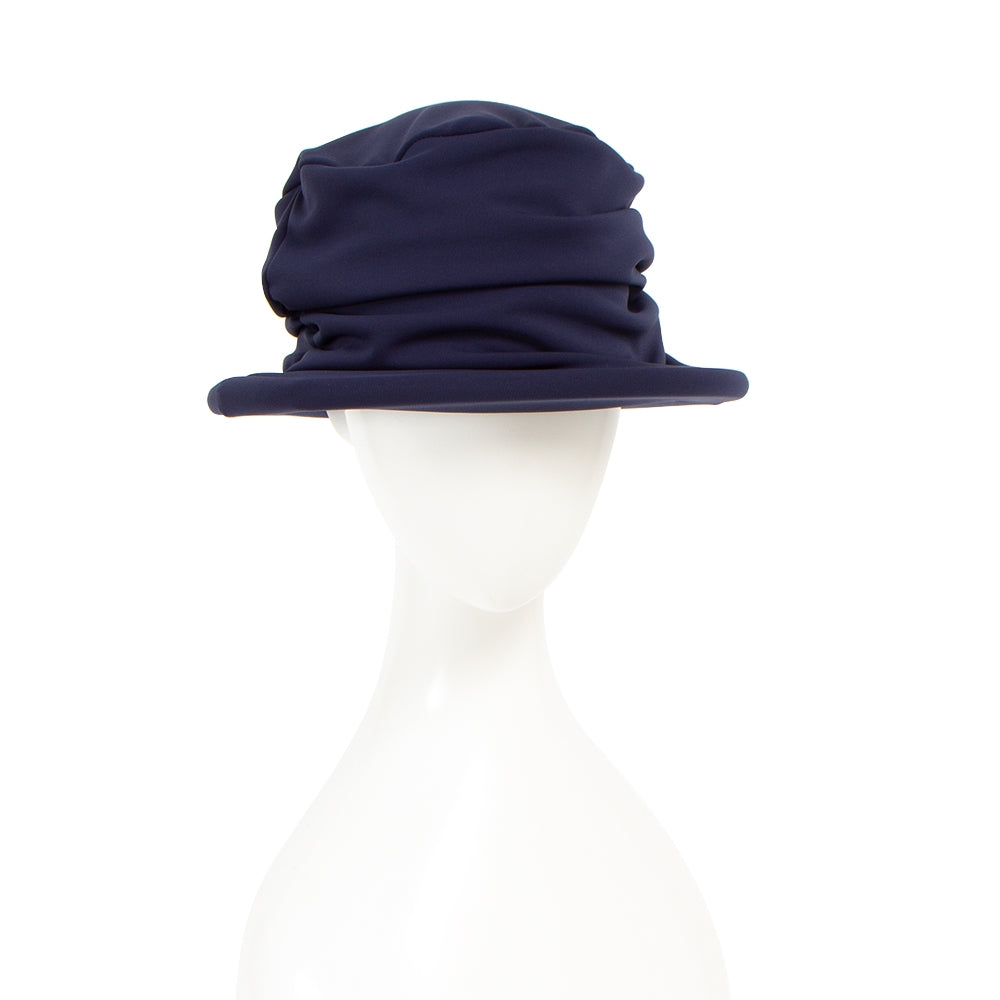 [HAT-389-BLU] hat with frame (30% OFF)