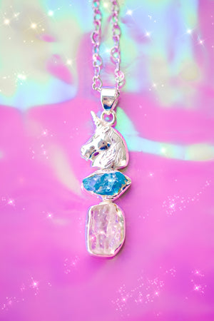 UNICORN DREAMS #2 Apatite Kunzite - Wonderland L'atelier