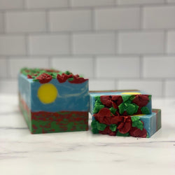 Sunshine & Poppies Silk Soap