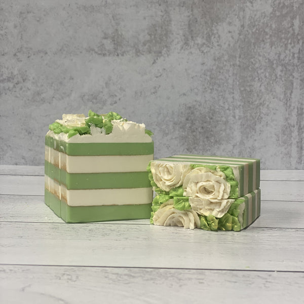 Crisp Apple Rose Three Butter Coconut Milk Soap