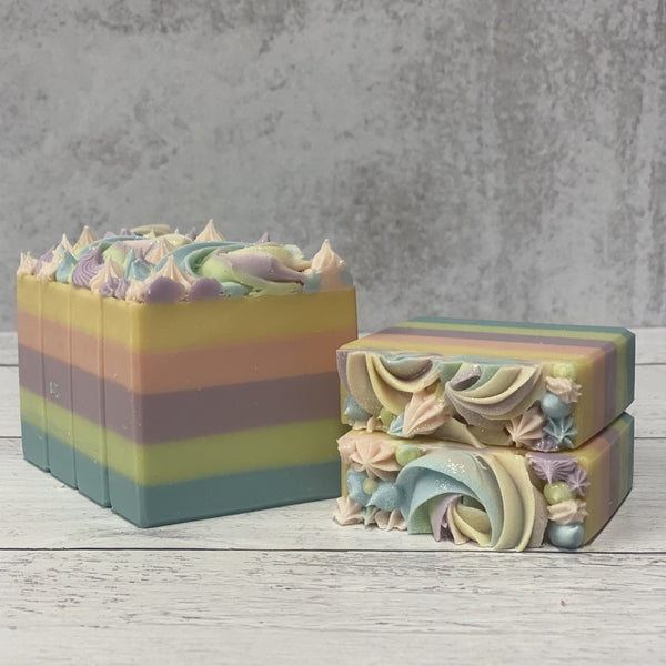 Spring Fling Three Butter Coconut Milk Soap