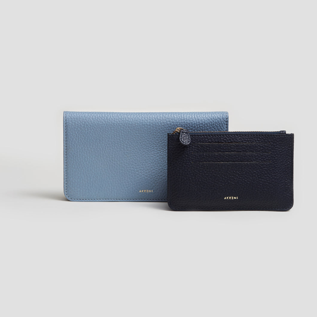 PORTEMONNAIE CLOUDY BLUE | NAVY