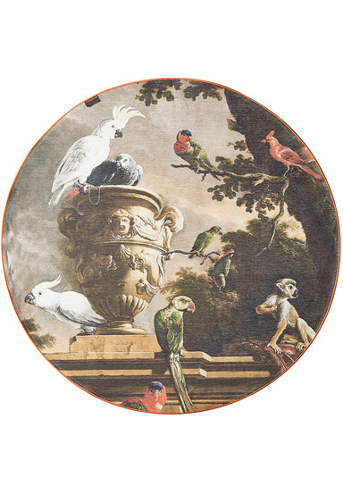 Rond vloerkleed - Dutch Masters - Birds in Menagerie