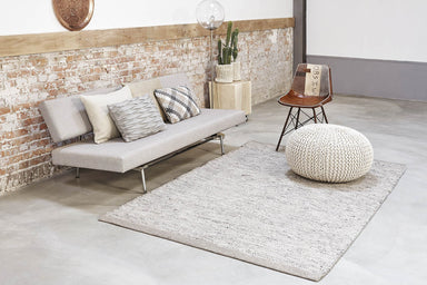 Scandinavisch vloerkleed - MOMO Rugs Teppe Grey/White