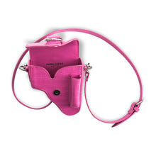 Load image into Gallery viewer, Pink Leather Multi Purpose Mini Bag