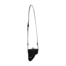 Load image into Gallery viewer, Black Leather Multi Purpose Mini Bag