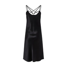 Load image into Gallery viewer, Black Slip Dress