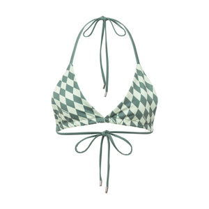 Recycled Polyester PXL String Bikini Top
