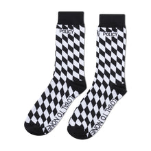 Load image into Gallery viewer, Black and White PXL Socks