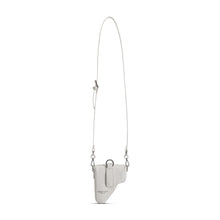 Load image into Gallery viewer, White Leather Multi Purpose Mini Bag