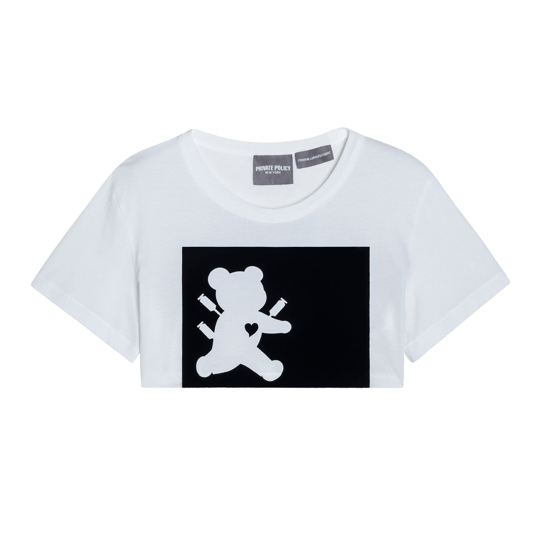 Runaway Bear Flocking T-shirt