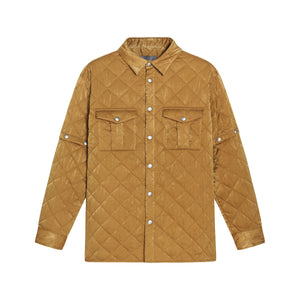 Detachable Sleeve Quilted Jacket