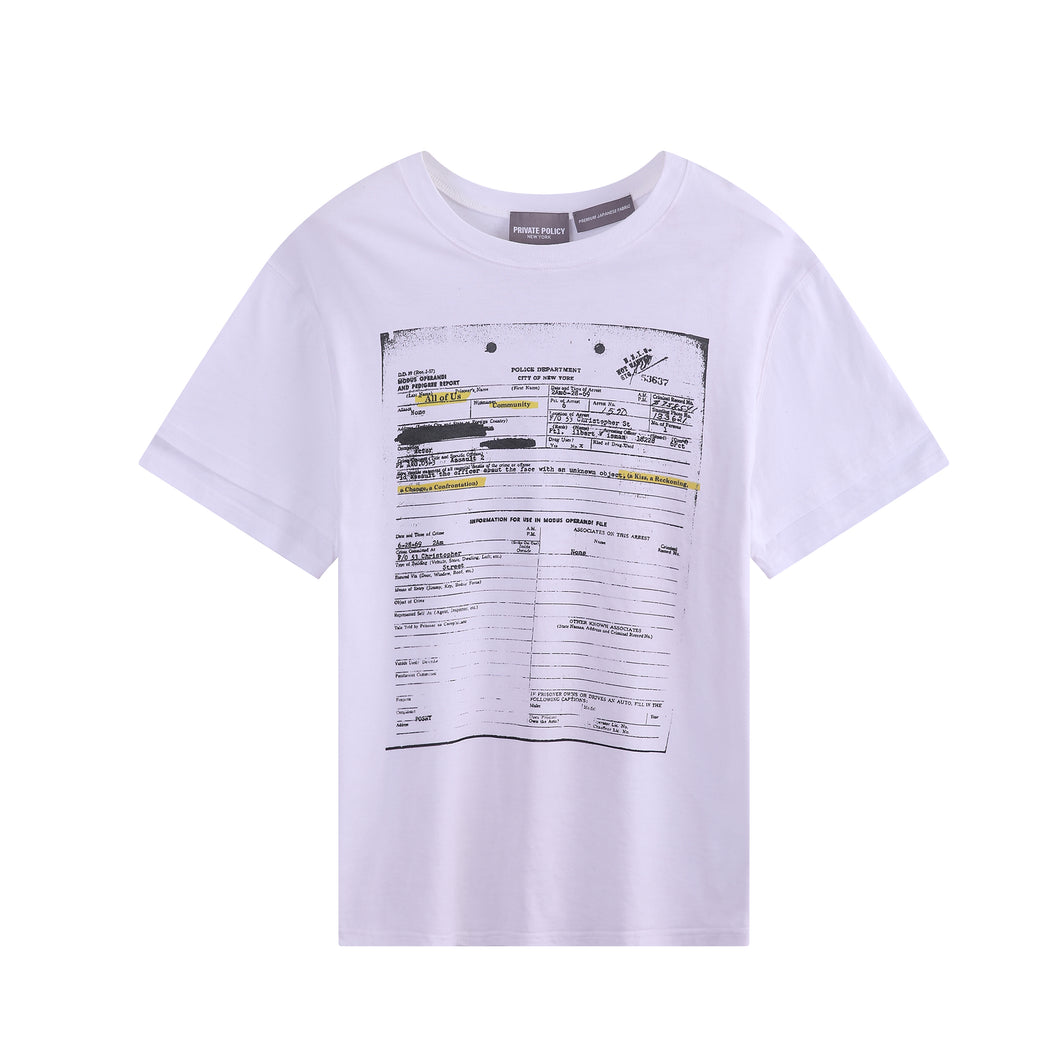 Form Graphic T-shirt