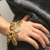 Gold Bracket Chain Jewelry Bracelets