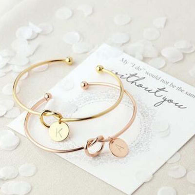 Fashionable Female Letter Bracelets