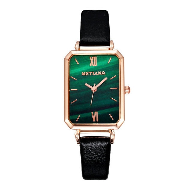 Watch for Women Lady Simple Square Plate Digital Watch Lover