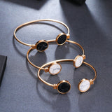 Adjustable Fashion Charm Bangles