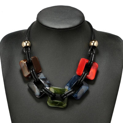 Fashion Power Leather Necklace