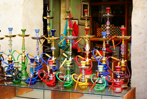 Collection of Hookahs