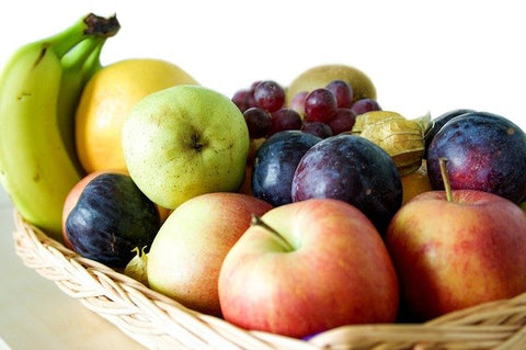 Basket of Some Tropical Fruits