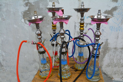 Bunch of Cleaned Hookahs