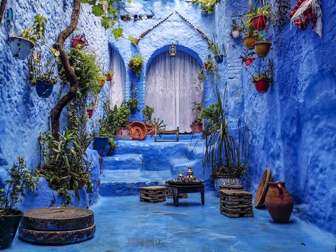 Lounge in Morocco