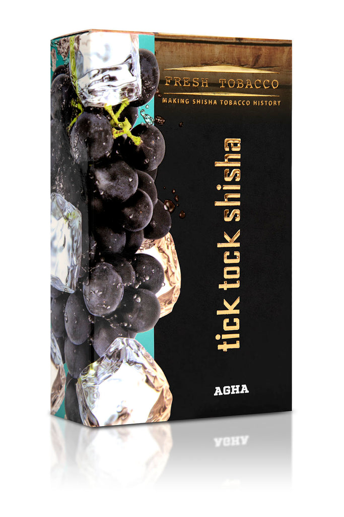AGHA-Ice Grape - Tick Tock Shisha USA